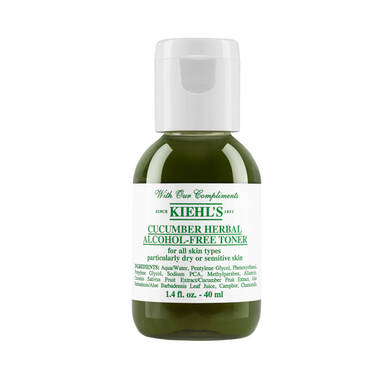 Cucumber Herbal Alcohol-Free Toner Deluxe Sample
